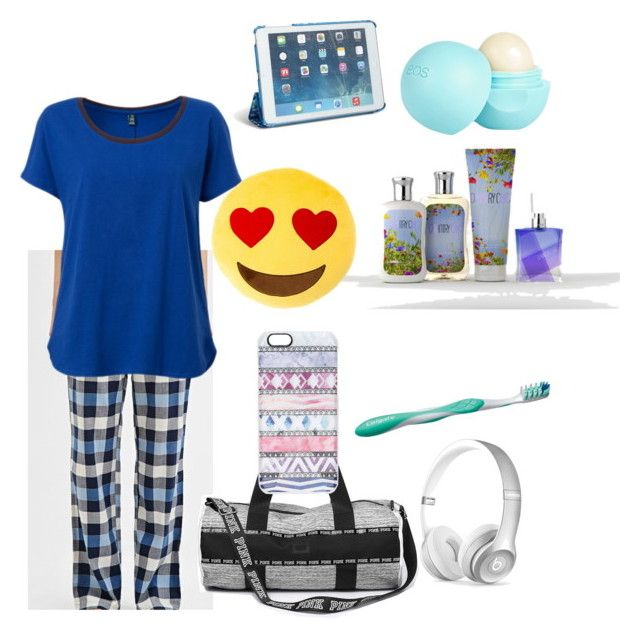 """sleep over"" by cupcakegirl897 on Polyvore featuring Forever 21, Beats by Dr. Dre, River Island, Colgate, Vera Bradley and Casetify"