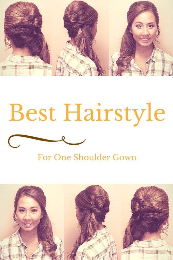 How To Wear Hair With A One Shoulder Gown? | ↣ Beauty & hair ...