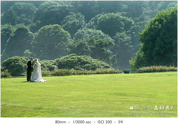 Wedding couple photography. Keeping your distance.