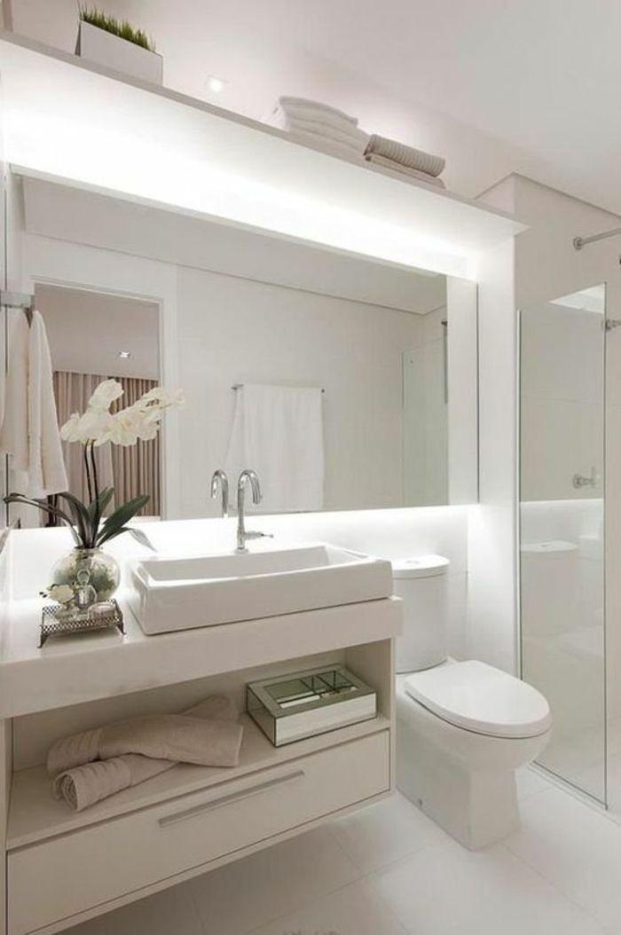Grand Miroir Salle De Bain Lumineux