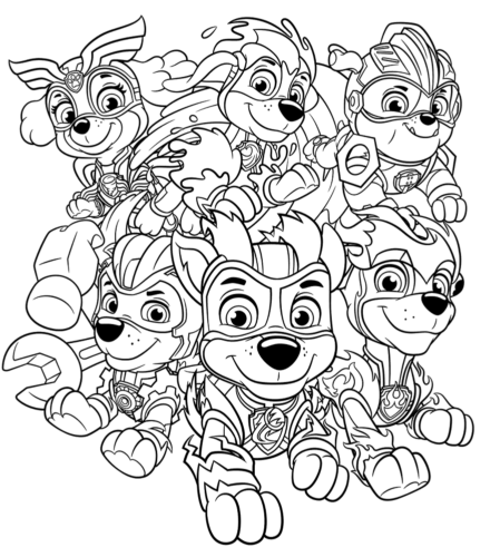 Mighty Pups Coloring Pages In 2020 Paw Patrol Coloring Pages Paw Patrol Coloring Paw Patrol Pups