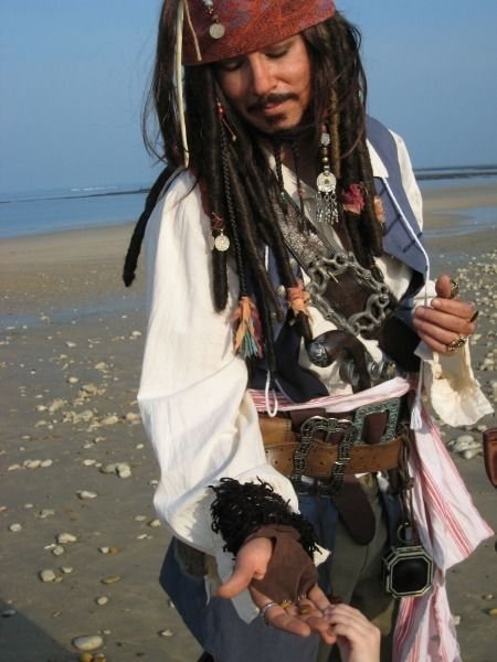 Un Jack Sparrow très ressemblant !