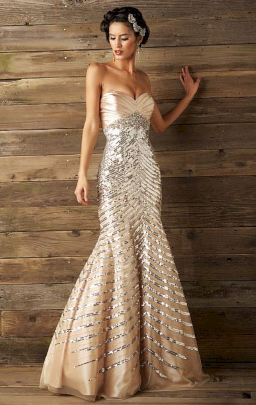 42 Old-Fashioned but Glamour Evening Gown | Glamour, Gowns and Formal