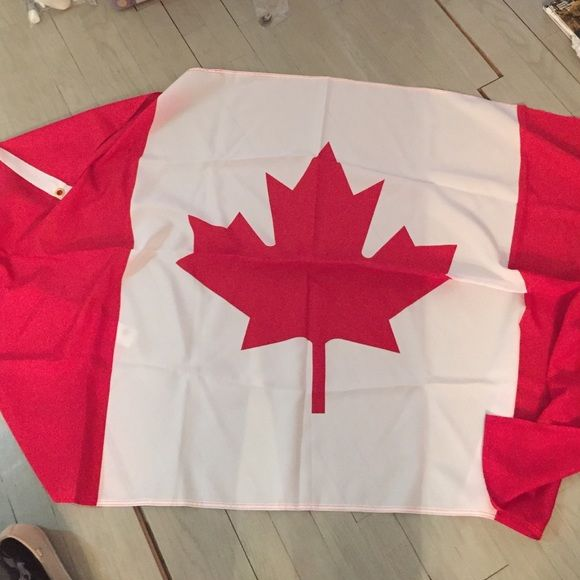 Large Cloth Canadian Flag Oh Canada! Other