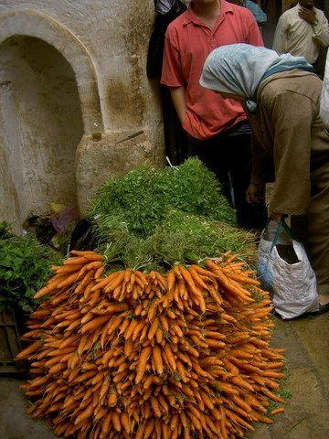 Morocco farmers market.