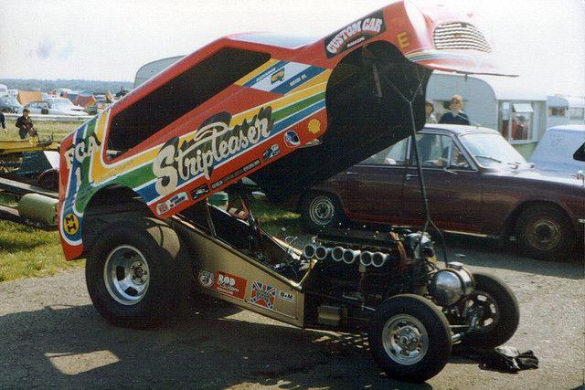 Stripteaser Mini Van Drag Racing Funny Car Funny Car Drag Racing Drag Racing Cars Car Humor