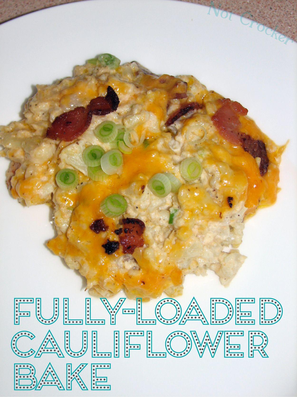 Fully-Loaded Cauliflower