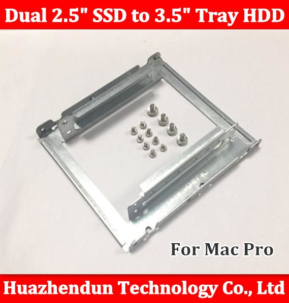 """2.5/""""SSD Hard Drive to 3.5/"""" Drive Bay Adapter Mounting Bracket HDD Converter Tray"""