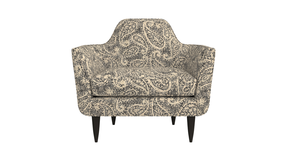 Gia chair with special order fabric