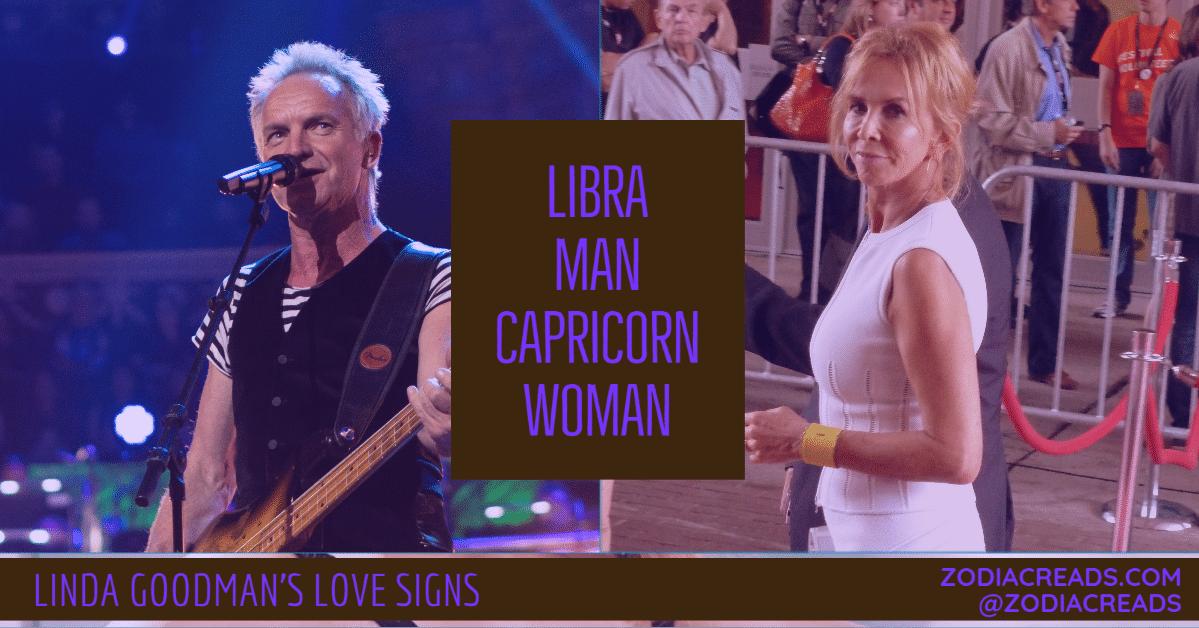 Libra Man and Capricorn Woman Love Compatibility - Linda ...