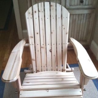 Ace Hardware   Adarondack Chair In A Box ... DIY Success!