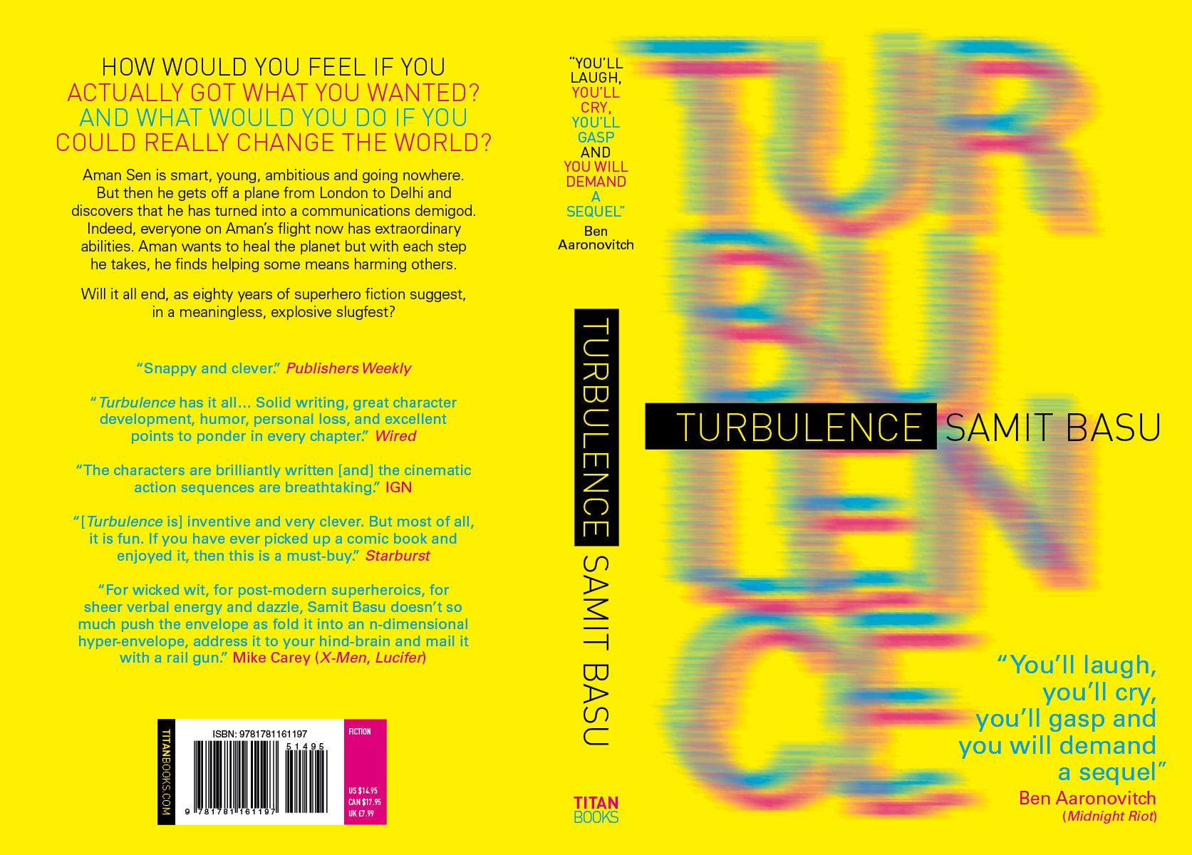 Turbulence - Samit Basu - US edition, 2013