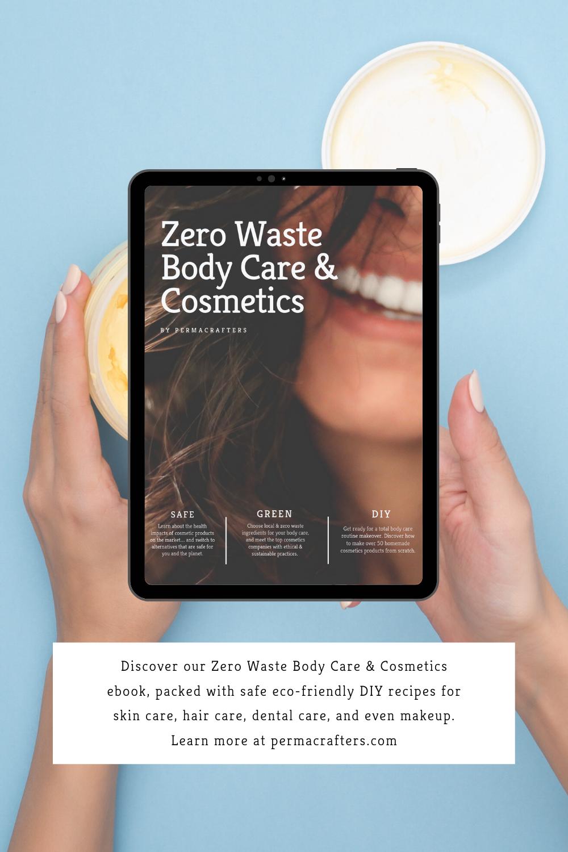 Zero Waste Body Care & Cosmetics Ebook in 2020 Body care