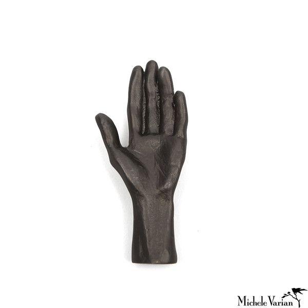 Human Hand Black