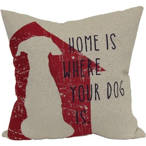 Better Homes And Gardens Decorative Pillow With Dog Words Jet Extraordinary Better Homes And Gardens Decorative Pillows