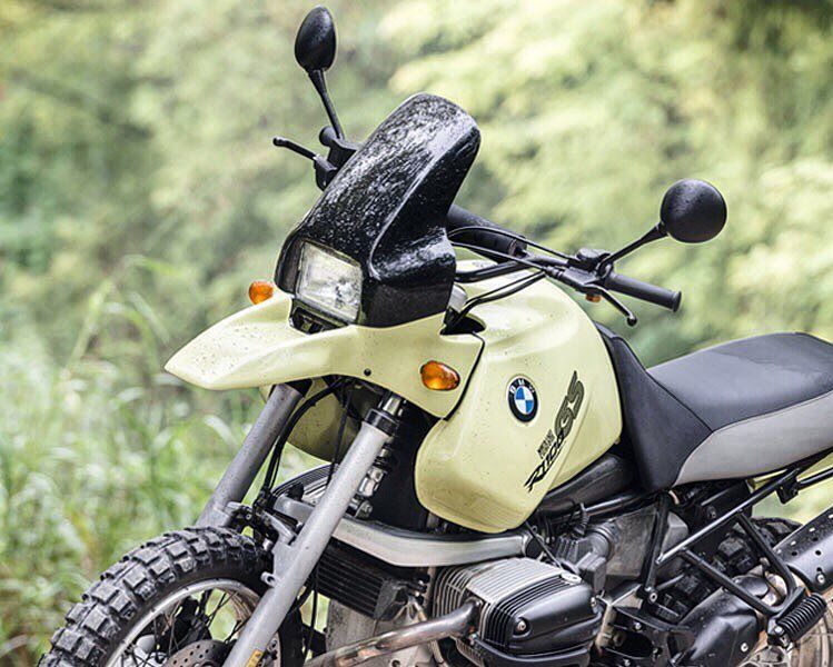 This Resto Modded Bmw R 1100 Gs From Bike Exif Motocicletas