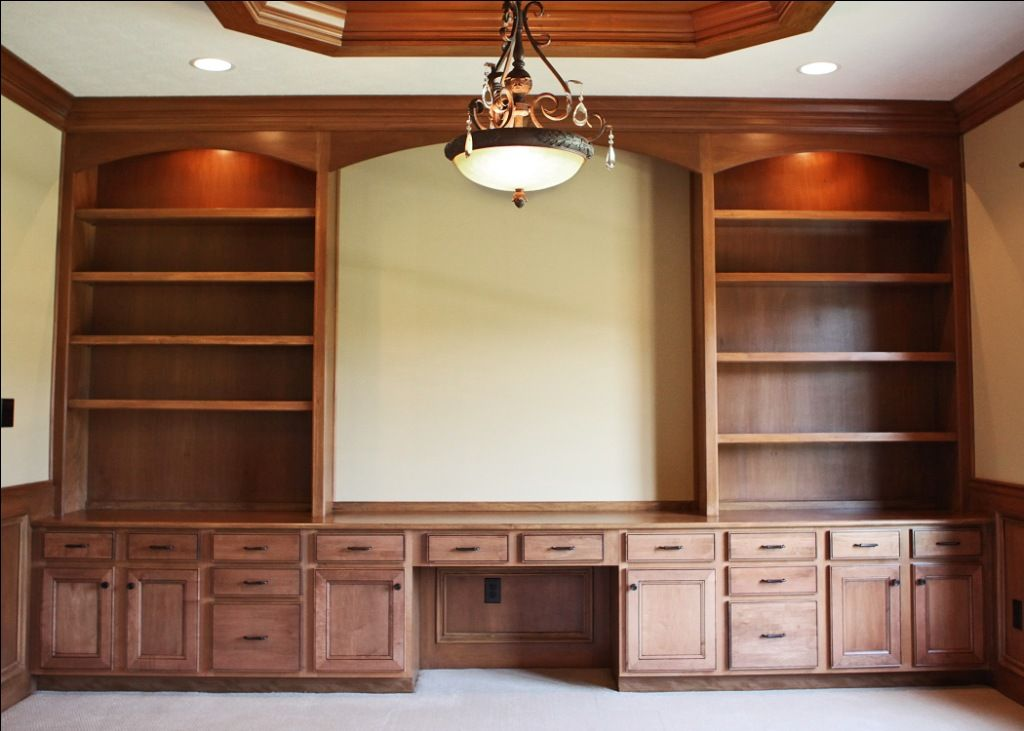 Home Office Home Office Storage Built In Wall Shelves Custom