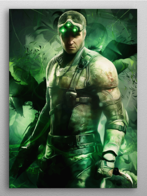 "Splinter Cell blacklist poster #Displate explore Pinterest""> #Displate #RedBubble explore Pinterest""> #RedBubble #WallArt explore… | Displate thumbnail"