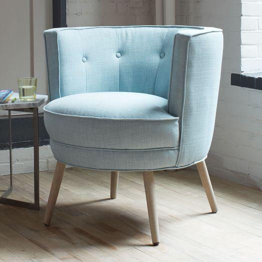 Buttoned Up Chair | West Elm | Home Decor | Pinterest ...