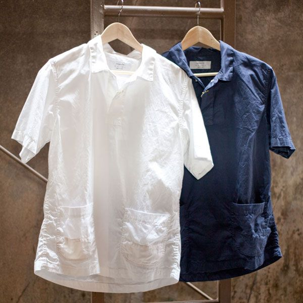Ordinary fits S/S SMOCK SHIRT