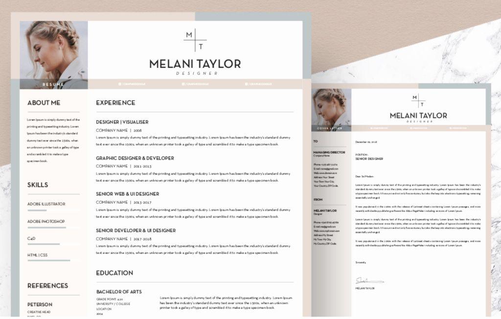 40 free creative resume templates word in 2020 creative
