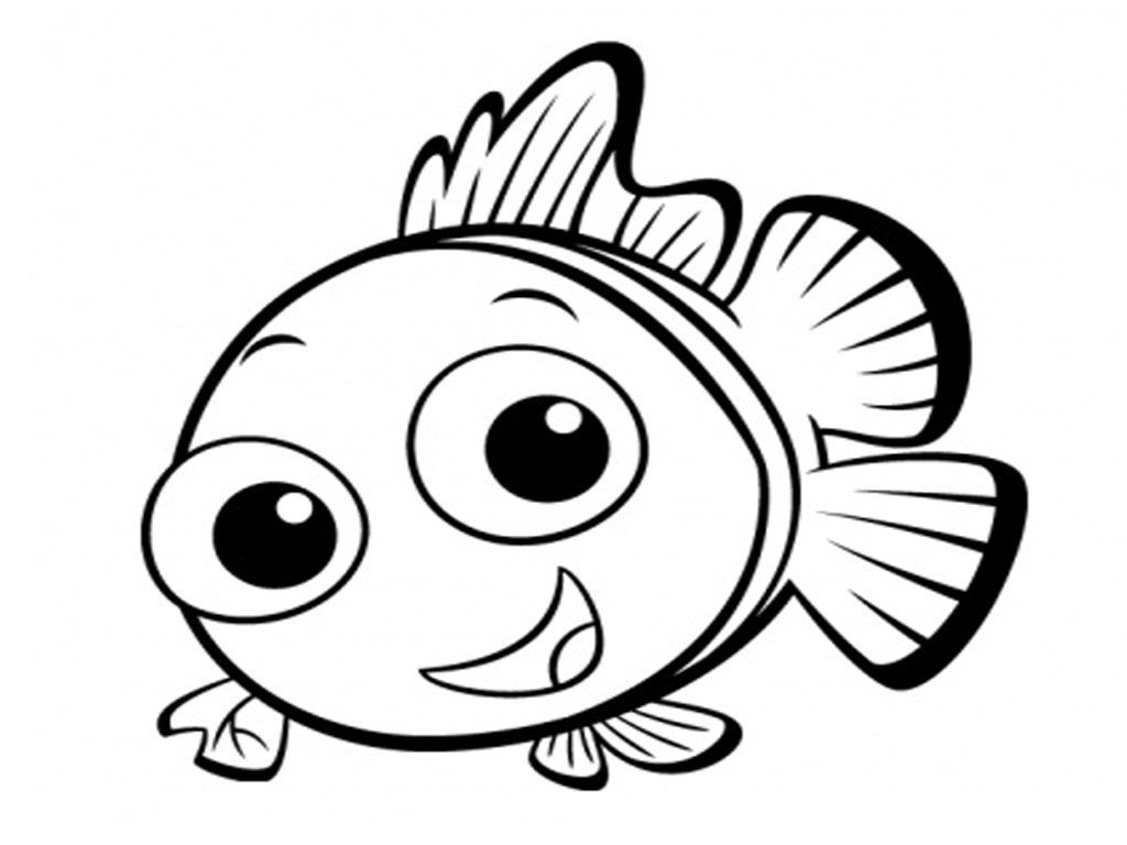 Fish Coloring Pages Free Download Procoloring Finding Nemo PagesColoring BookColoring