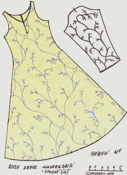 Patrones vestidos para hacer