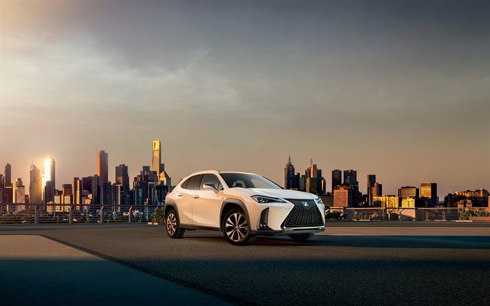 Download Wallpapers Lexus Ux 250h F Sport 4k Street 2019 Cars Cossovers Lexus Ux Japanese Cars Lexus Besthqwallpapers Com Geneva Motor Show Lexus Best Car Photo