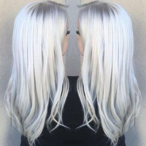 Ice Blonde Hair Color Perfect For Winter Ice Blonde Hair Icy Blonde Hair Hair Styles
