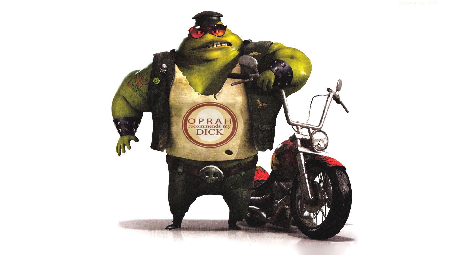 biker humor funny Shrek Wallpaper (727969) / Wallbase