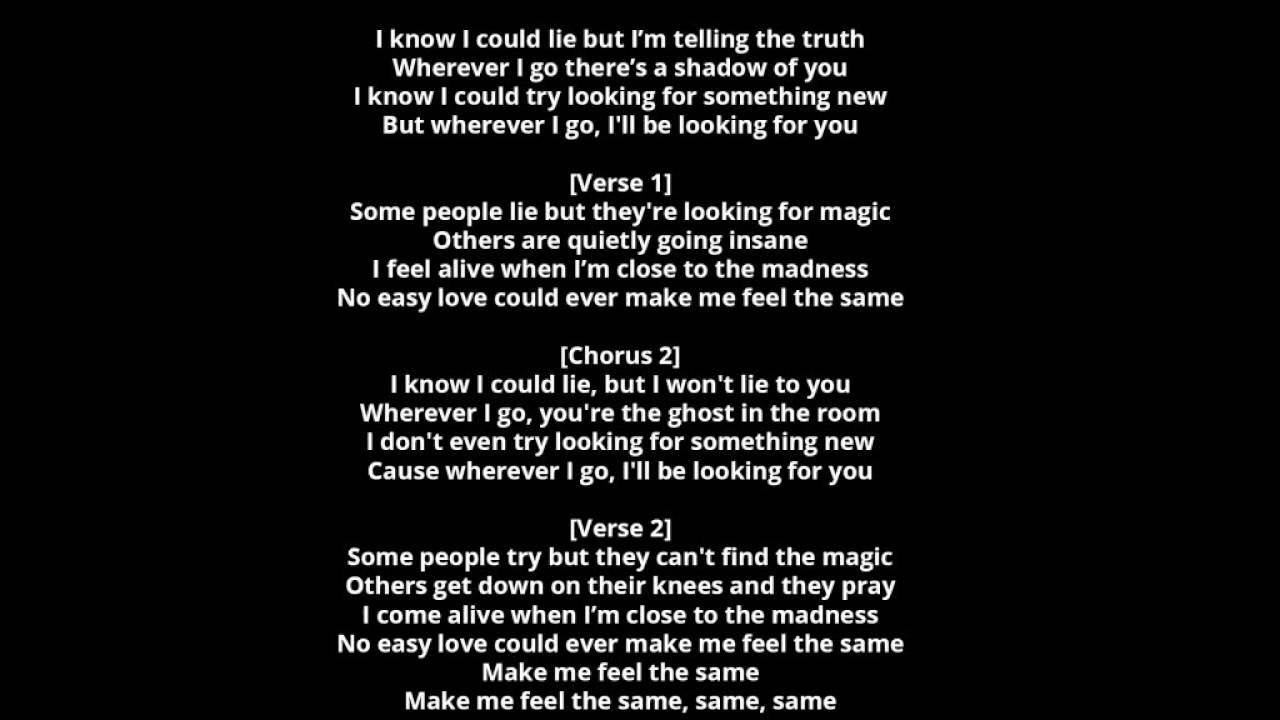 some people try to find it lyrics