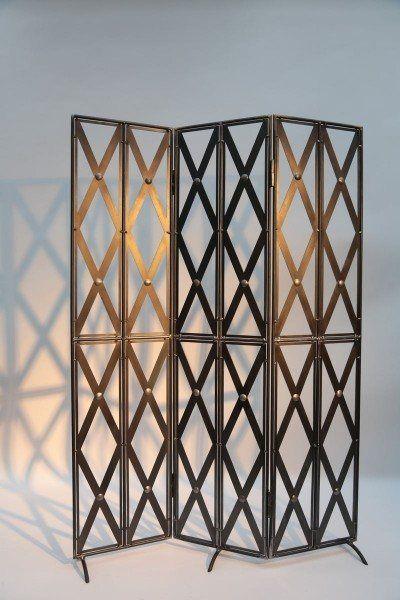 Paravent aus Stahl irony Pinterest Stahl, Mauerabdeckung - terrasse paravent sichtschutz