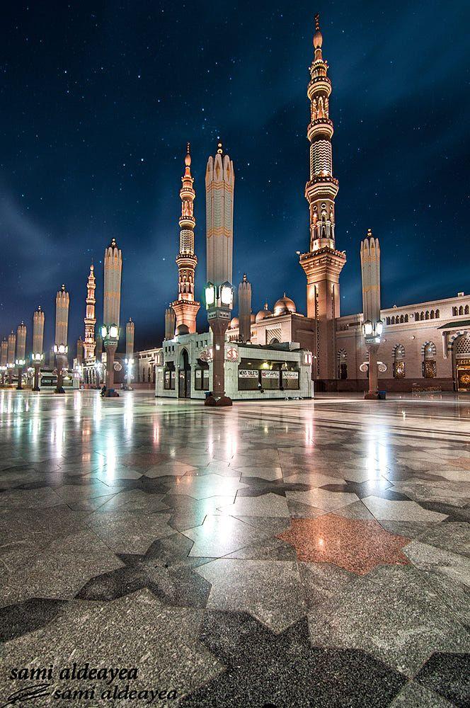المدينه المنوره من زاويه اخرا By Sami Sultan On 500px Medina Mosque Best Islamic Images Mosque
