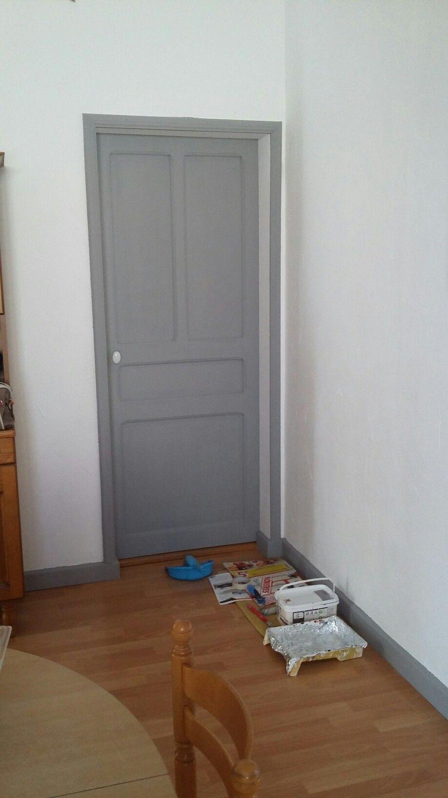 Peinture portes et entourages  Déco chambre parents, Déco maison