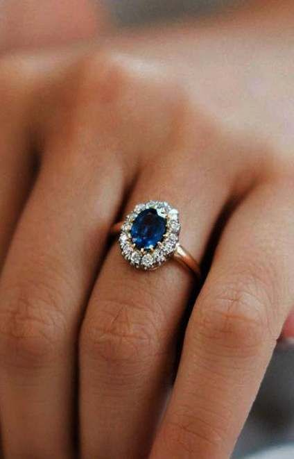 17 Trendy Vintage Wedding Rings Sapphire Engagement