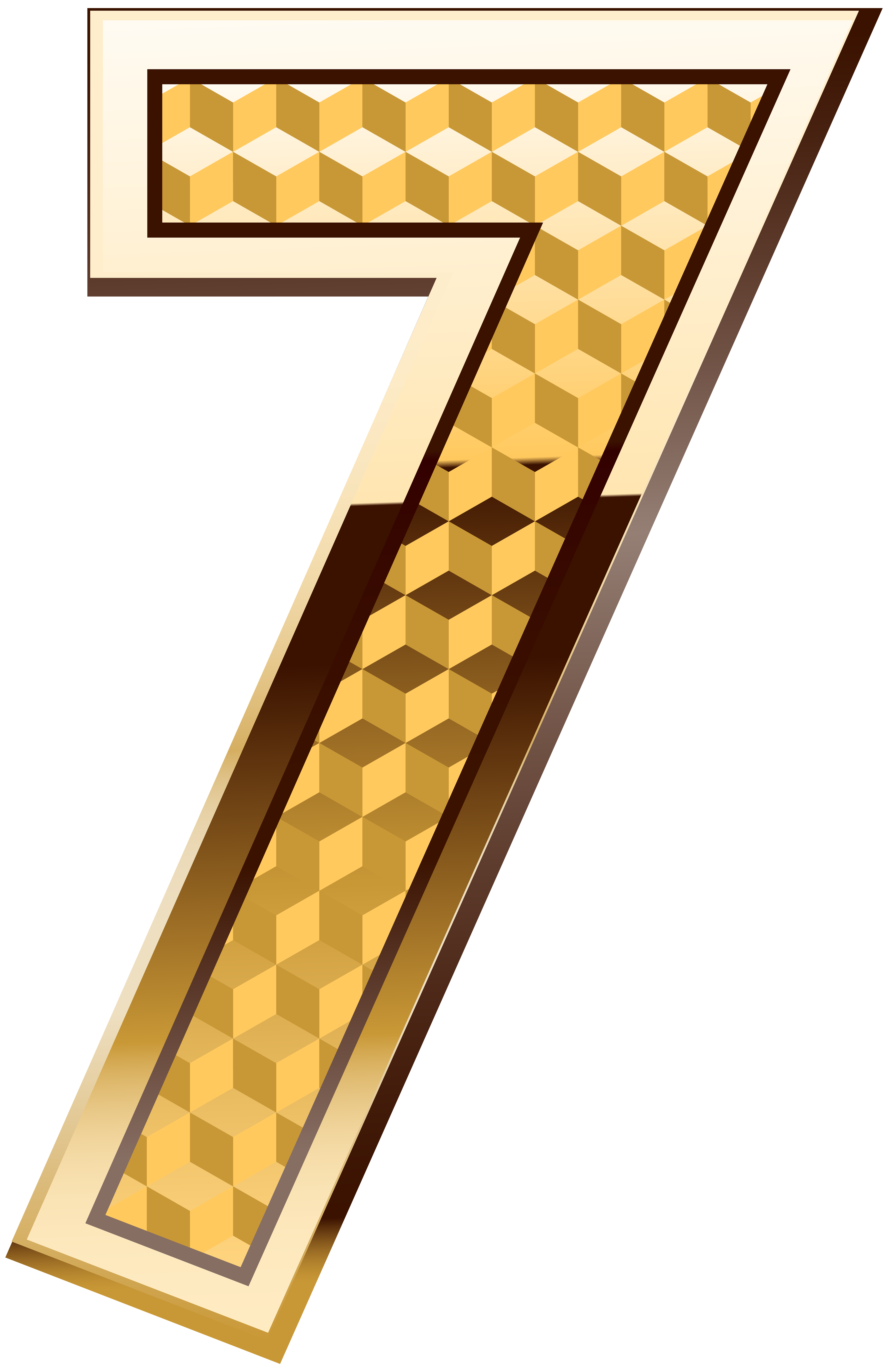 Gold Number Seven Png Clip Art Image Gallery Yopriceville High Quality Images And Transparent Png Free Clipart Clip Art Art Images Free Clip Art