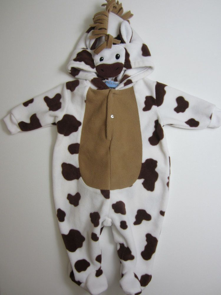 COW Appreciation Day Overalls Outfit Costume Chick-Fil-A Dress-Up 0-3 Months