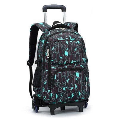cc1047a0d7 Hot Sales Removable Children School Bags with 3 Wheels Child Climb Stair Trolley  Backpack Kids Wheeled Bags Boys Girls Bookbag