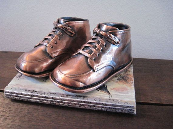 bronze baby shoes | My Remeber Whens! | Pinterest | Bronze, Search ...