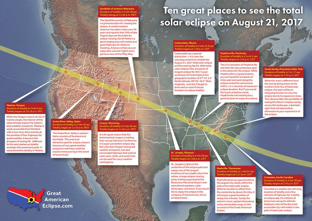 Total Solar Eclipse 2017  Communities in Missouri  Eclipse 2017