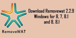 removewat 2.2.9 virus