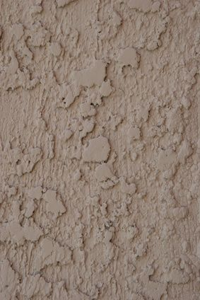 How to repair a wall with stucco house outside pinterest concrete block walls block wall for How to fix stucco exterior walls