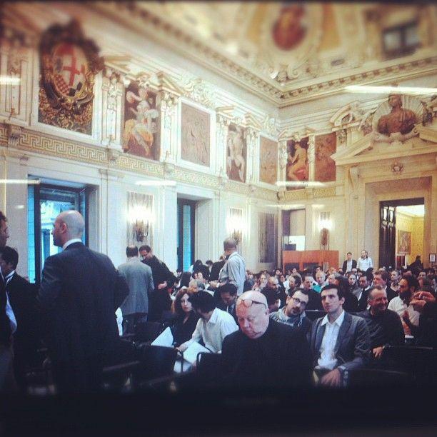Press conference. Palazzo Marino