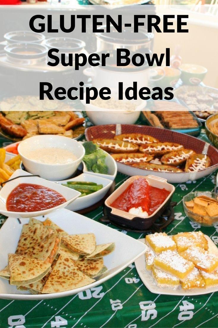 Gluten-free Super Bowl recipe ideas safe for celiac disease
