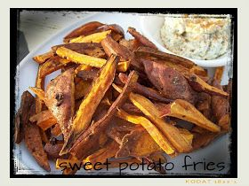 red or green?: Roasted Sweet Potato Fries
