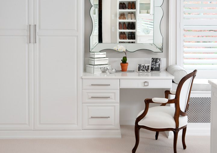 White Painted Maple Dressing Room Transform The Art Of