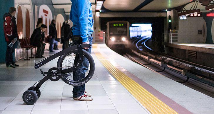 Halfbike personal transportation kickstarter 3
