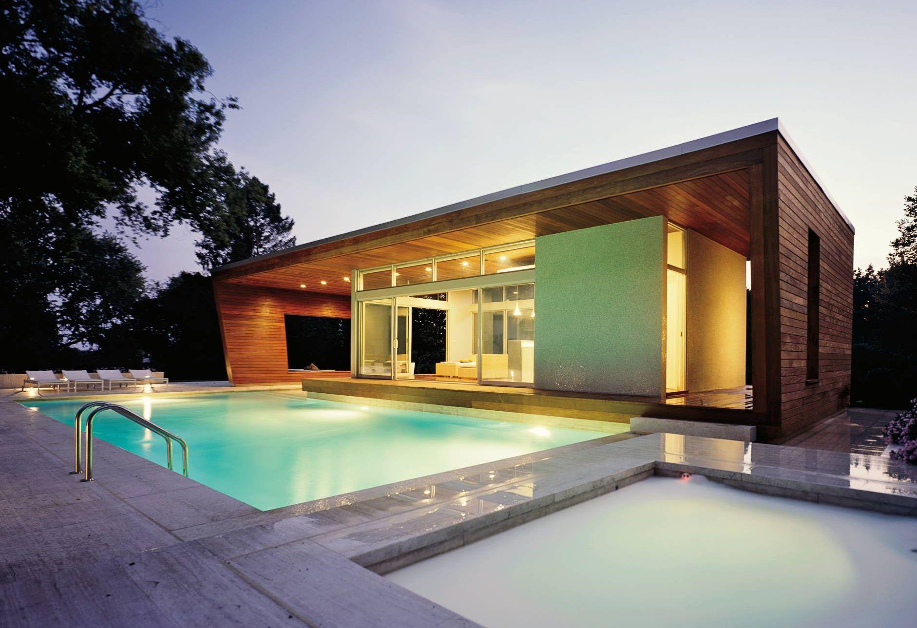Swimming Pool Pool House Minimalist Design On Design Ideas Pool Luxury House Pool Designs Maison Piscine Moderne Architecture Maison Moderne Pavillon Exterieur