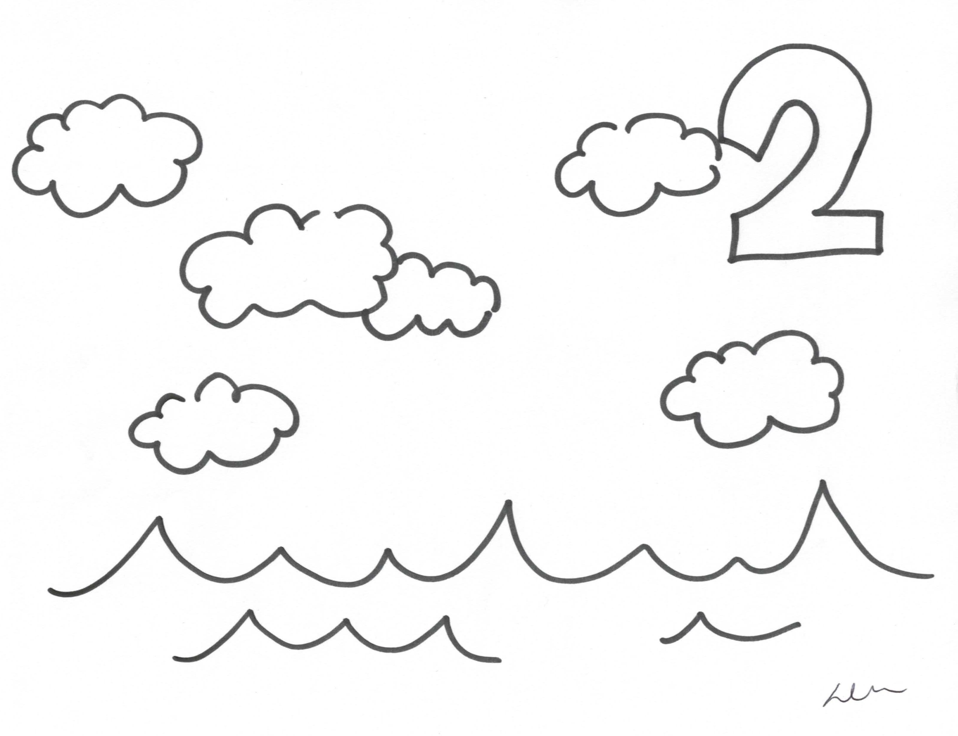 Gods Creation Day 1 Coloring Pages