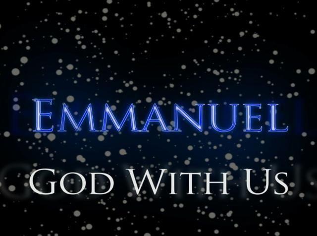 Emmanuel - God With Us | JESUS   Emmanuel   GOD with us